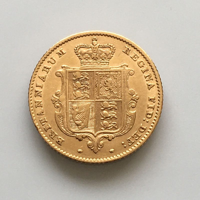 Half Sovereign 1849