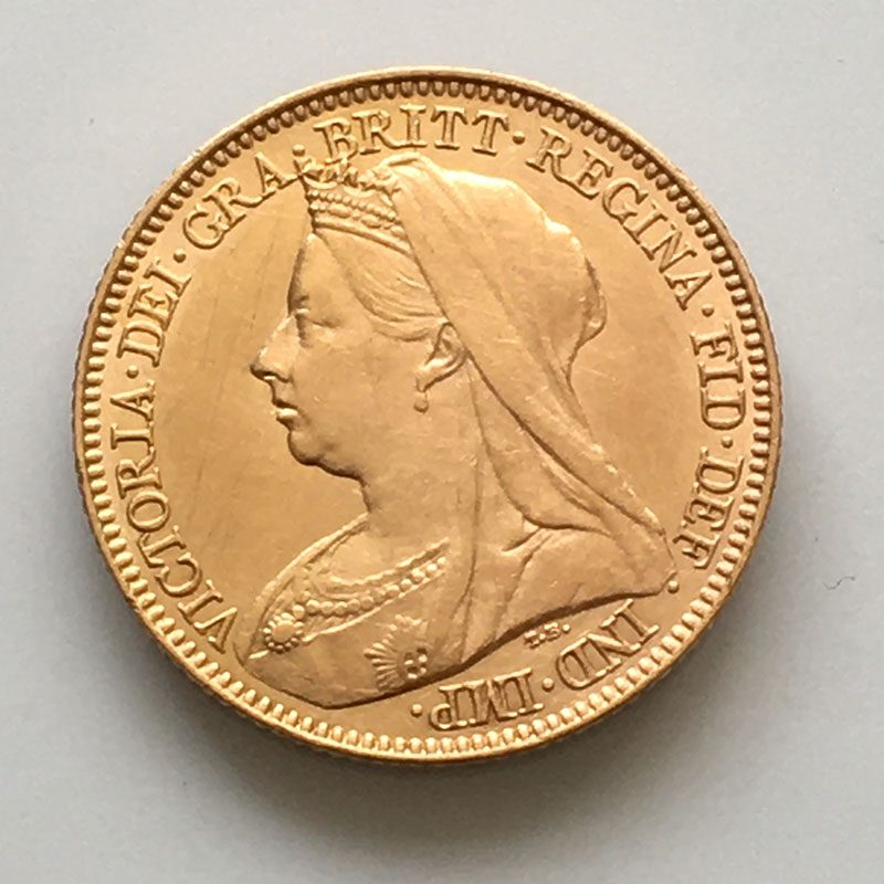 Half Sovereign 1899 M