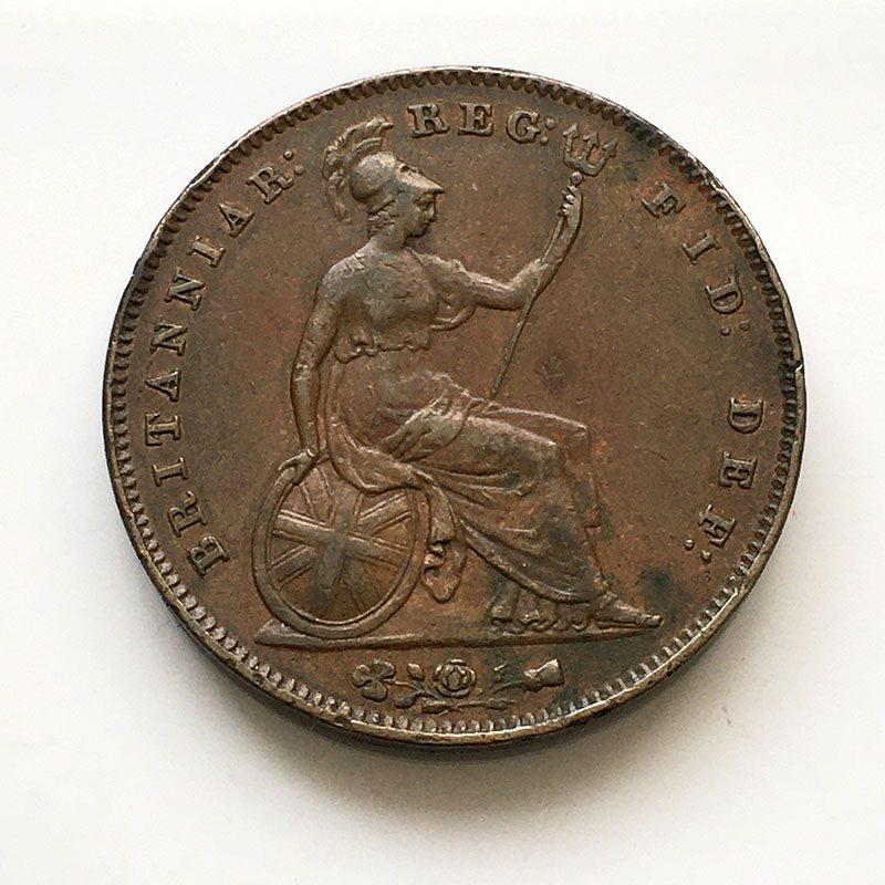 Penny 1856