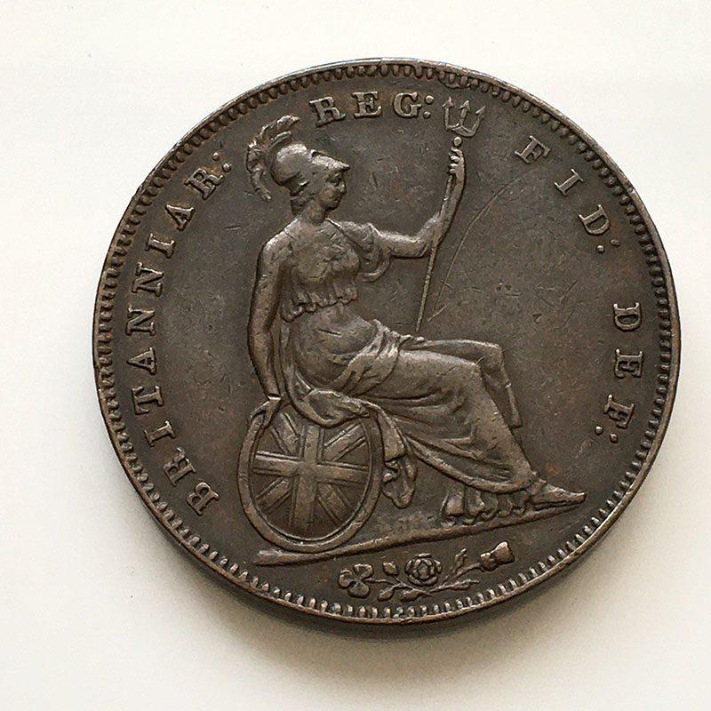 Penny 1855