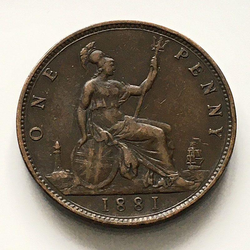 Penny 1881 F102
