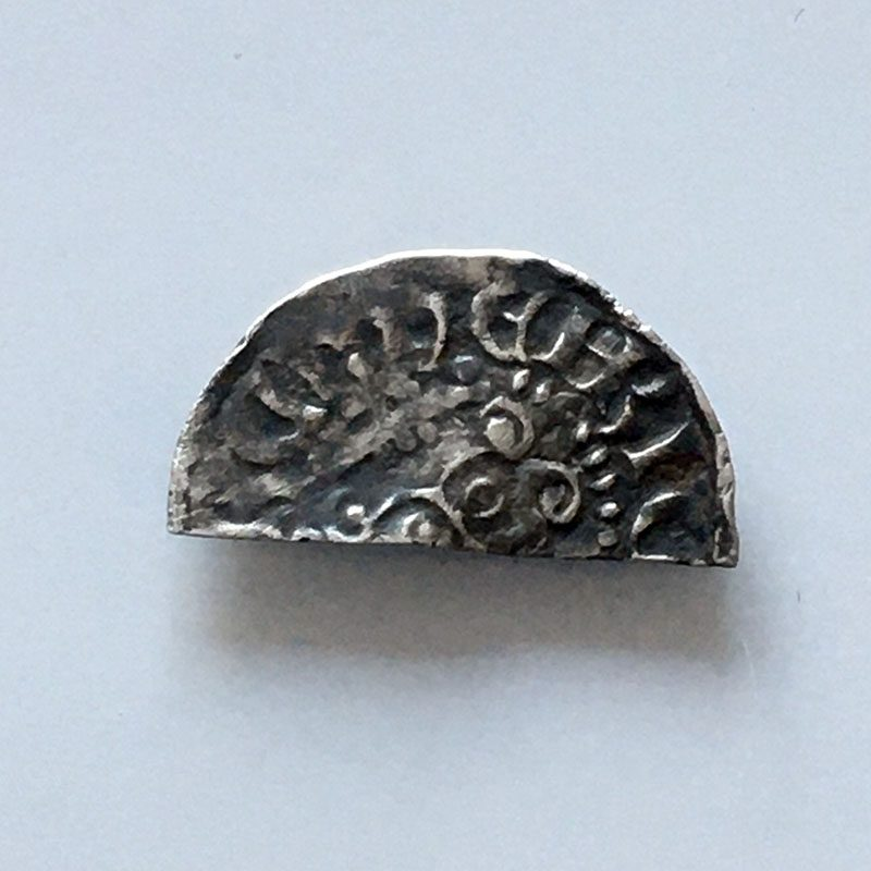 Hammered Cut Halfpenny Henry III