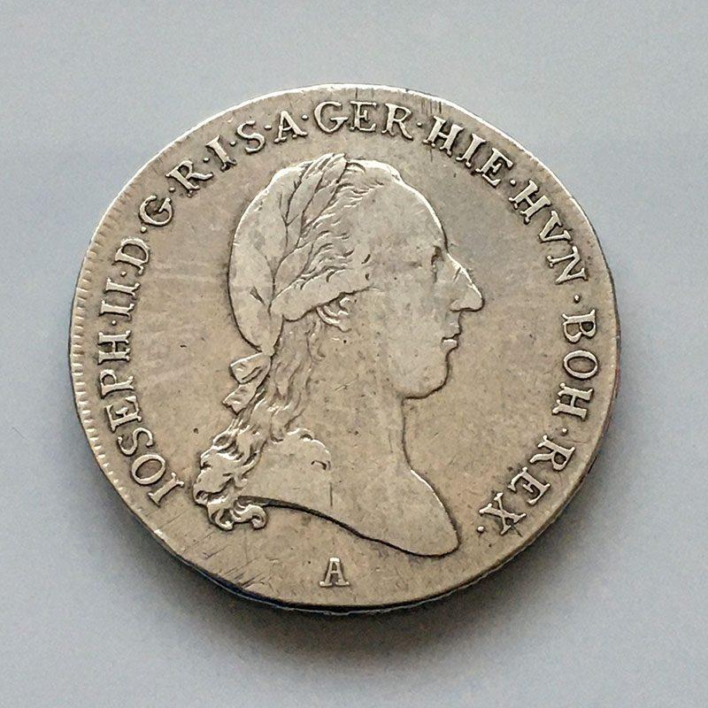 Austria Netherlands 1/2 Kronenthaler 1790