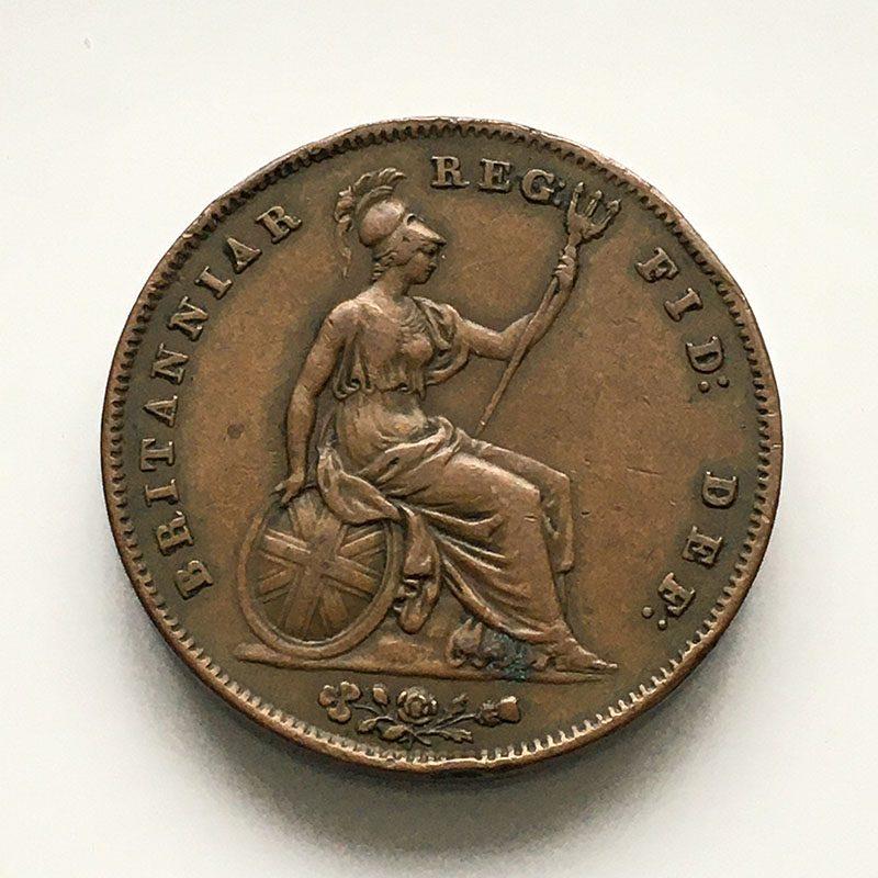 Penny 1847