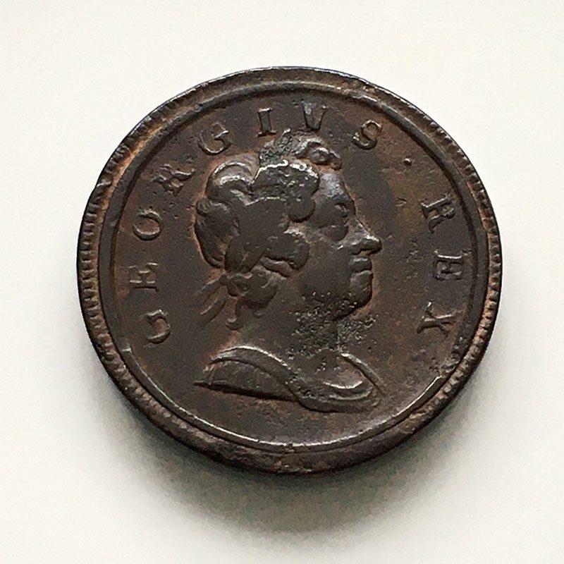 Halfpenny 1717