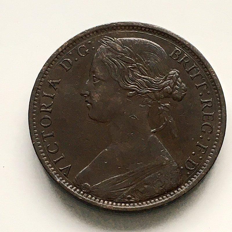 Penny 1872