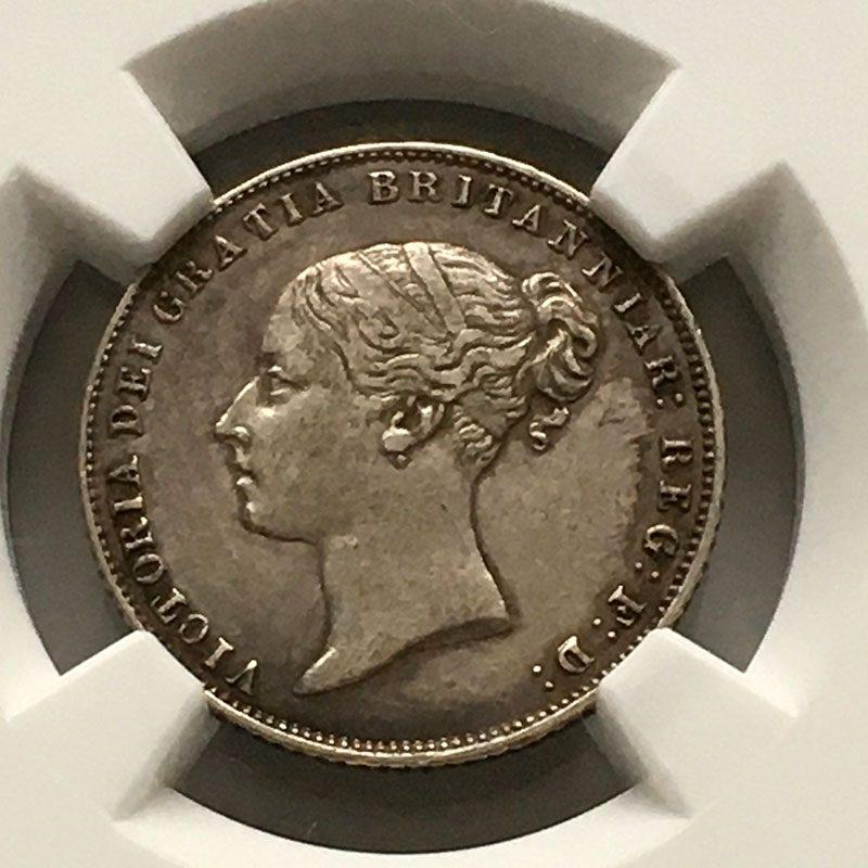 Sixpence 1863