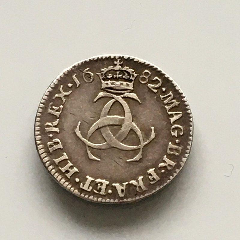 Maundy 3 pence 1682