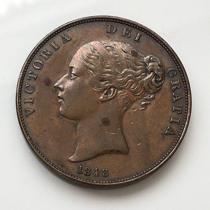 Penny 1848