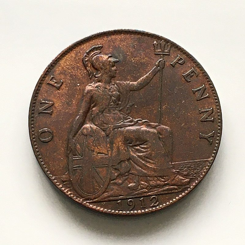 Penny 1912 H