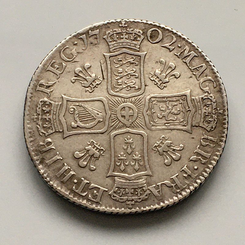Shilling 1702
