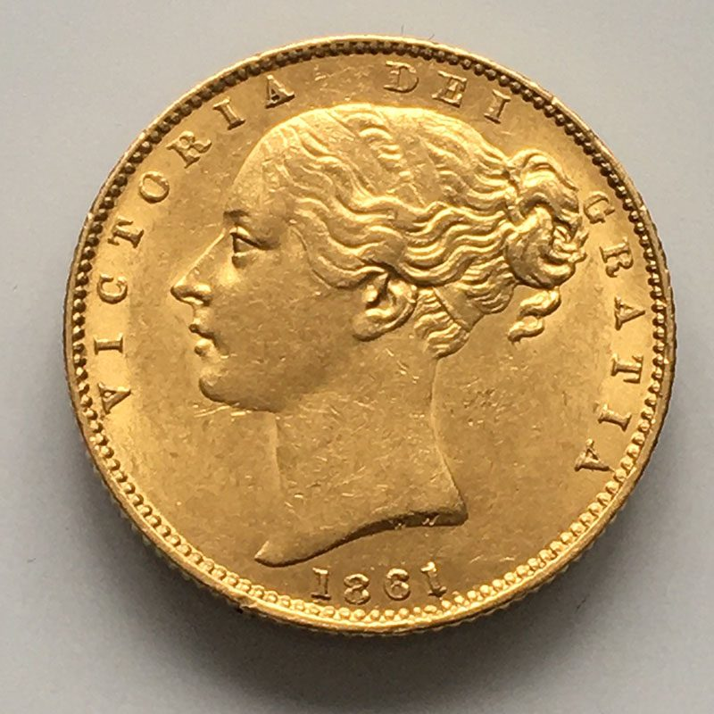 Sovereign 1861/1