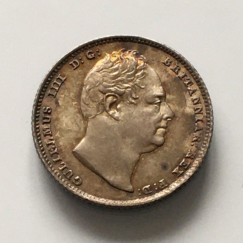 Sixpence 1835