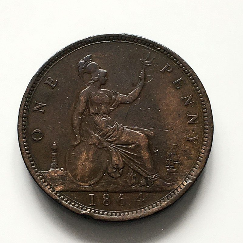 Penny 1864