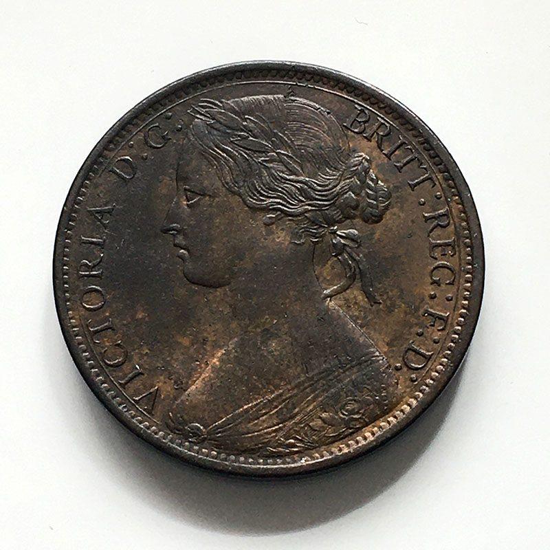 Penny 1869