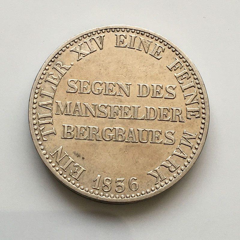 German states Prussia Thaler 1836