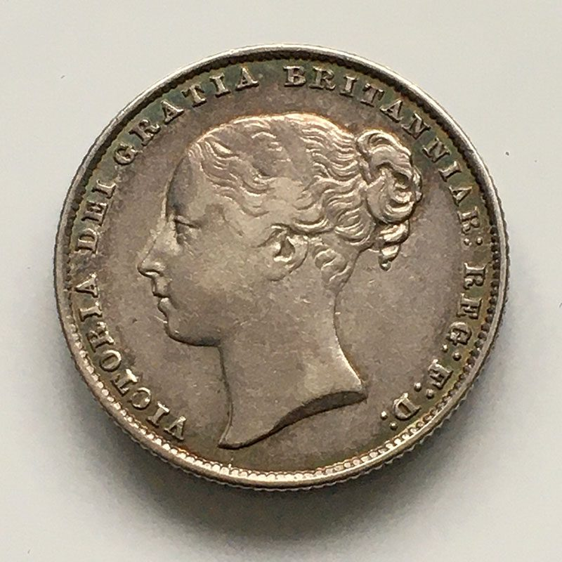 Shilling 1862