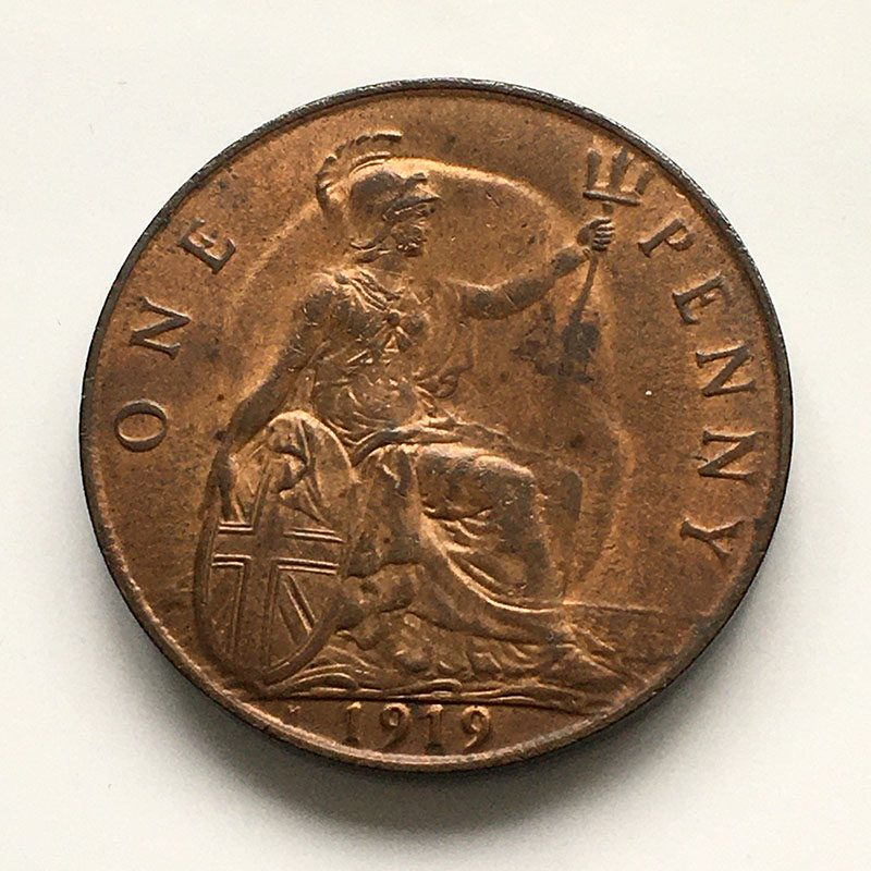 Penny 1919 H