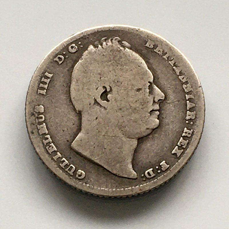 Sixpence 1836