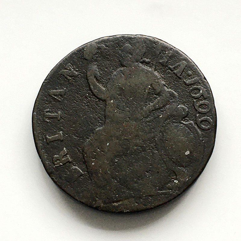 Halfpenny 1699