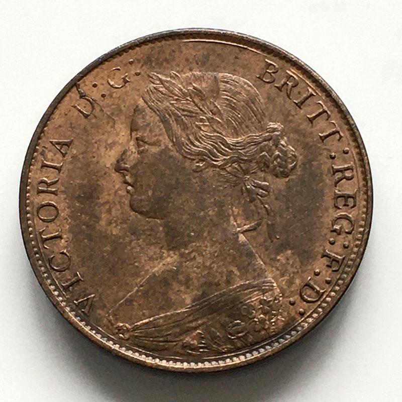 Bronze Halfpenny