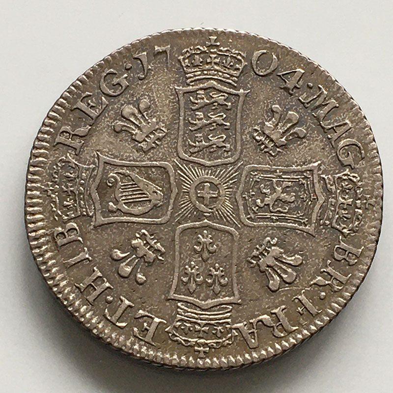 Shilling 1704