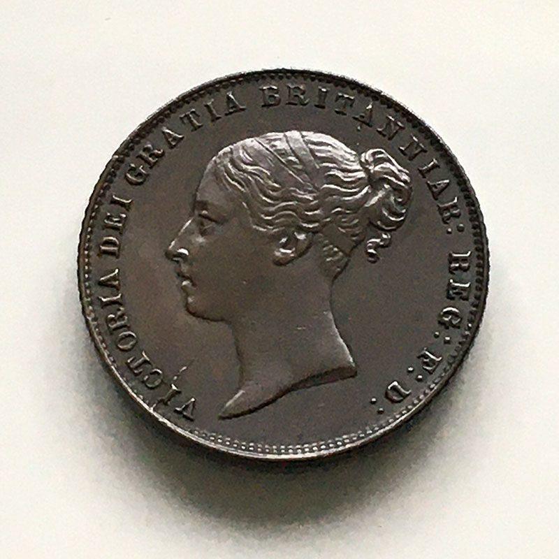 Sixpence 1860
