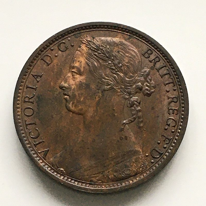 Penny 1878
