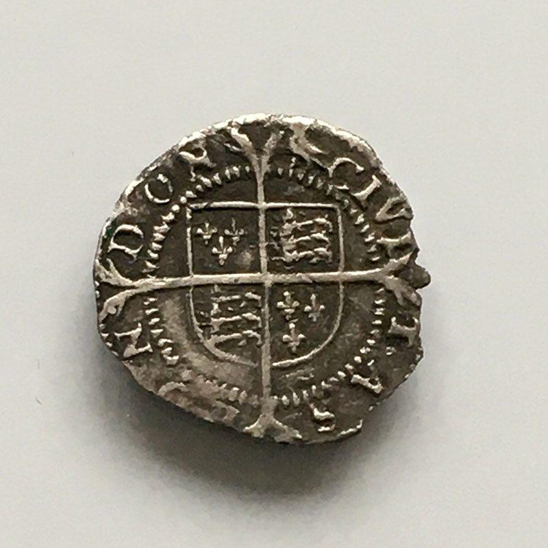 Hammered Penny Elizabeth I