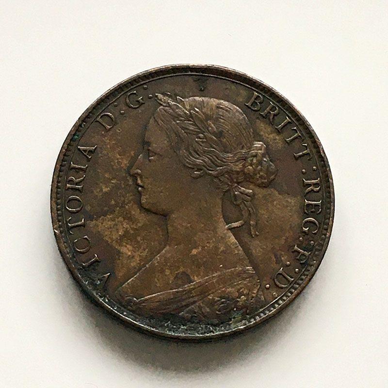 Halfpenny 1864