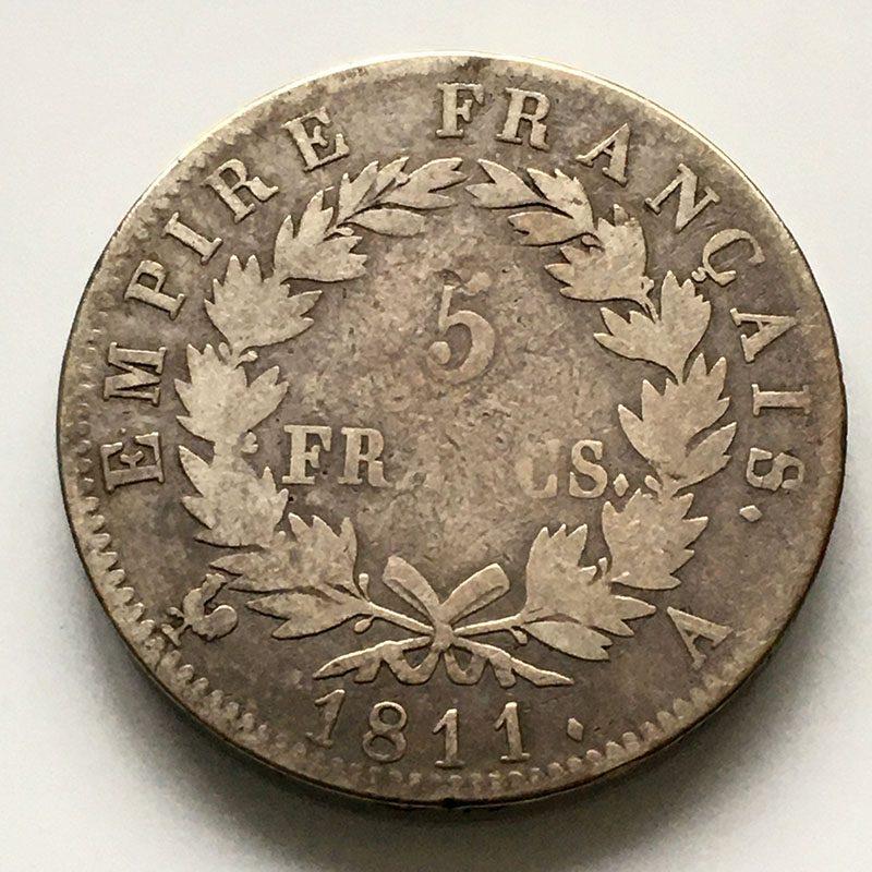 France 5 Francs 1811