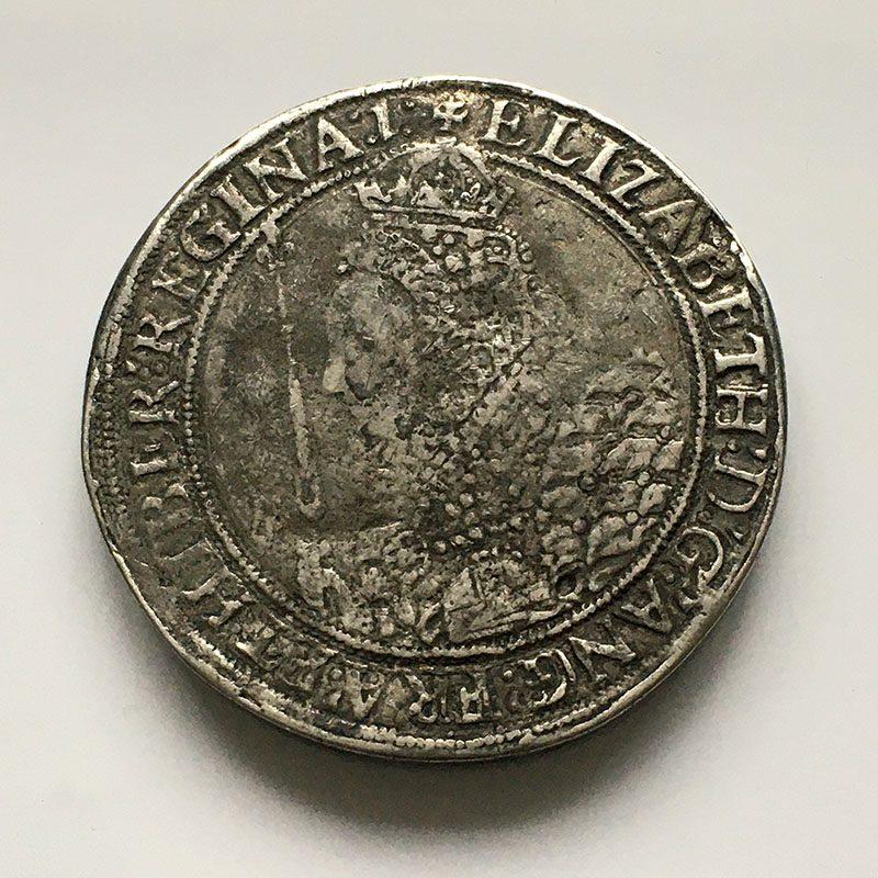 Hammered Crown Elizabeth I