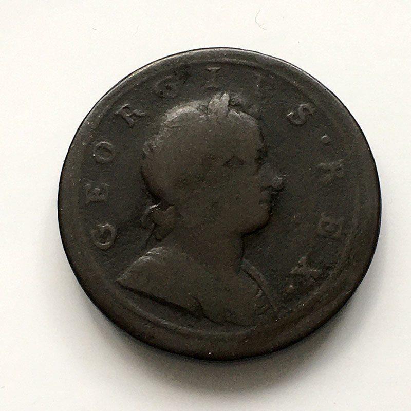 Halfpenny 1720