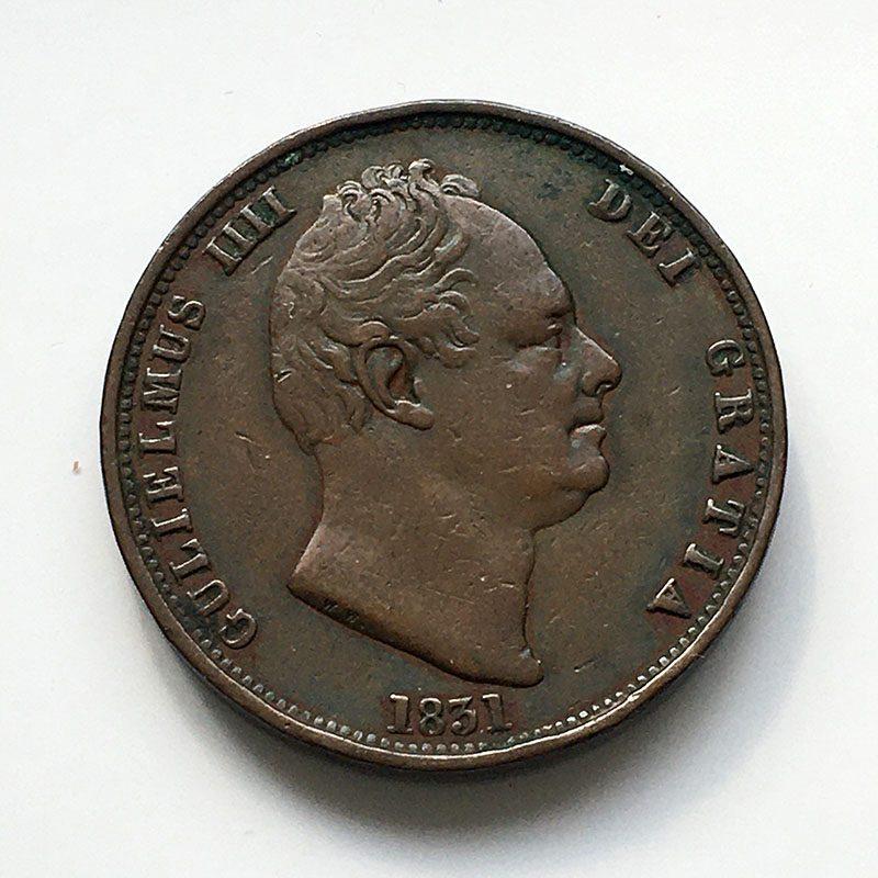 Halfpenny 1831