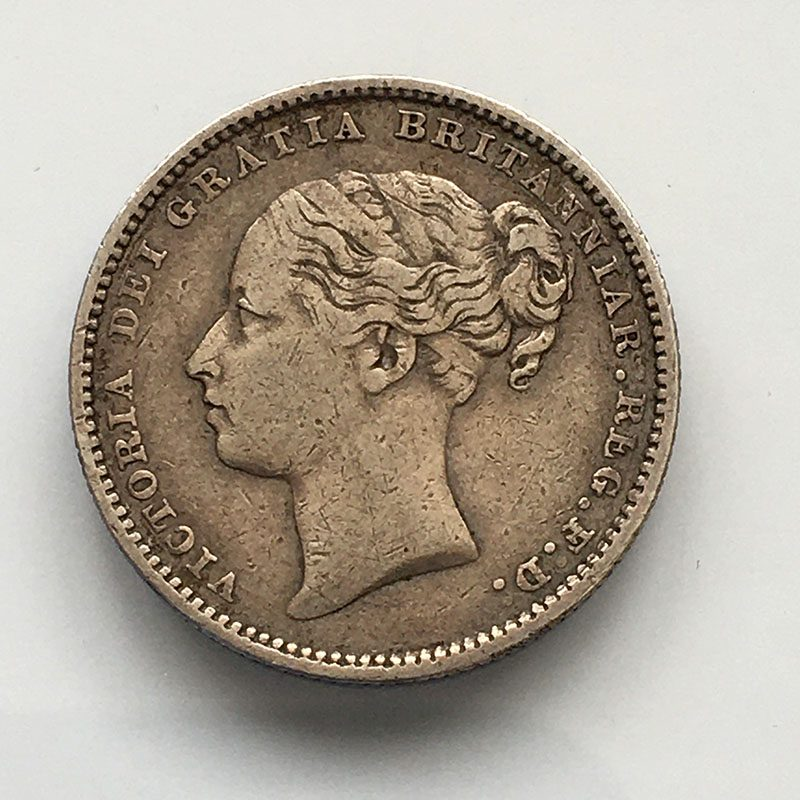 Shilling 1883