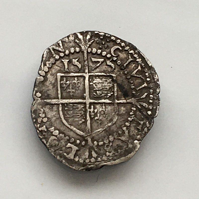 Hammered Threehalfpenny Elizabeth I